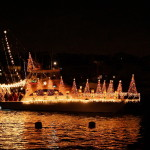 Christmas Boat Parade in Newport Beach